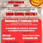 """Ordine agrumi SOS Rosarno - Consegna a """"sono cavoli nostri!"""" - 20 Pietre (ex Aci) domenica 21 Febbraio pomeriggio"""