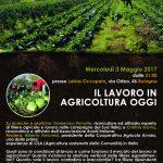 Il lavoro in agricoltura oggi