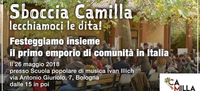 Sboccia Camilla! La festa di Camilla sabato 26 maggio